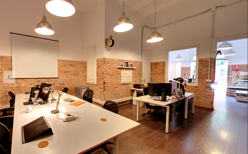 021 espai coworking space in Barcelona