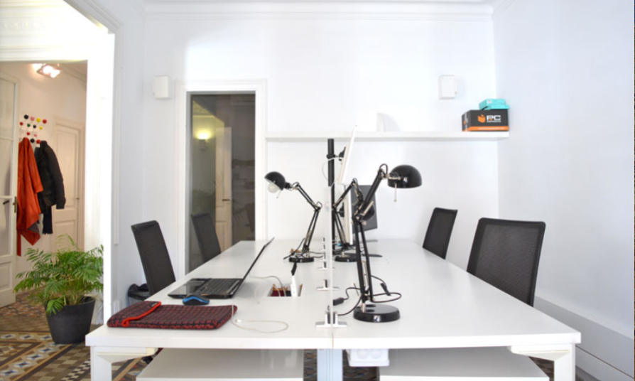 MeetBCN coworking space in Barcelona