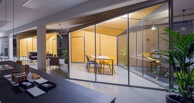 Zamness coworking space in Barcelona