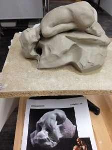 Figurative sculpture class barcelona