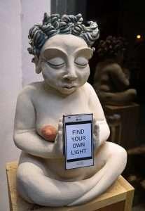 Spiritual sculpture by Amelia Johannsen