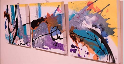 Painting exhibition in Barcelona
