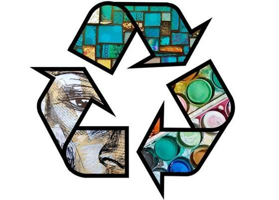 zero waste art strategies