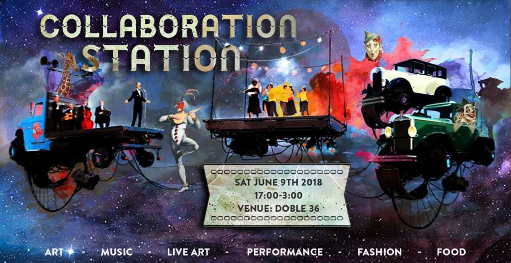 collaborations startion art event in barcelona