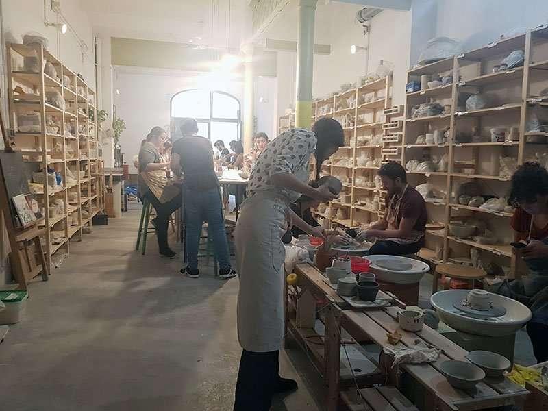 Atüell ceramics studio in Barcelona