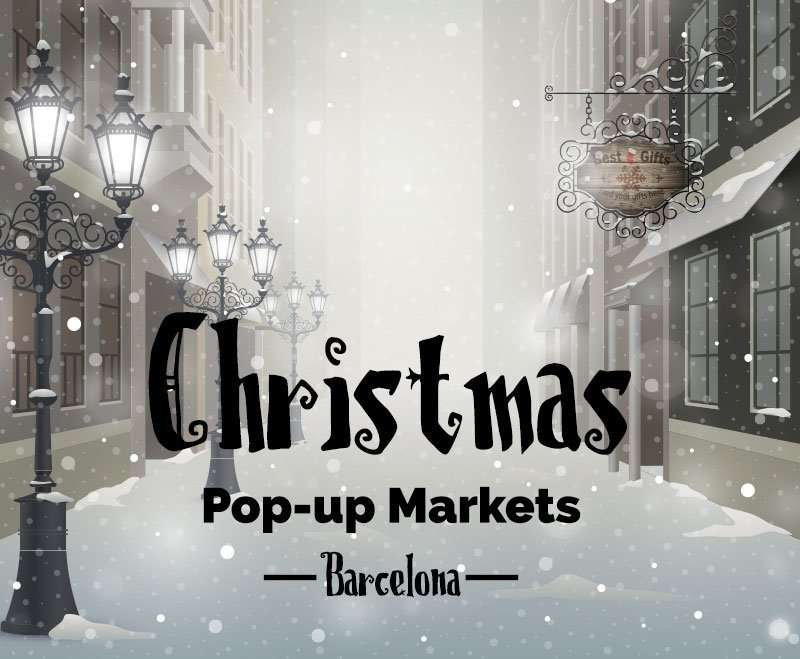 pop-up markets christmas in Barcelona