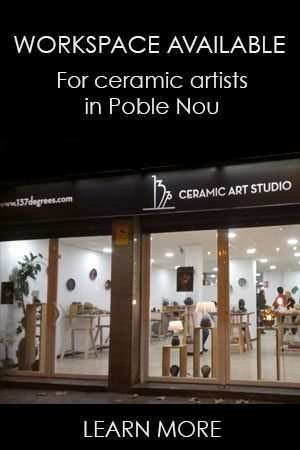 workspace for ceramic artists barcelona