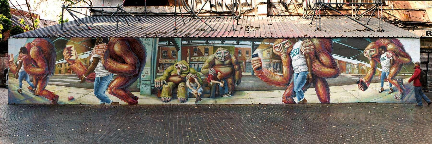 inspiring urban art barcelona