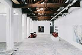 carles tache art gallery barcelona