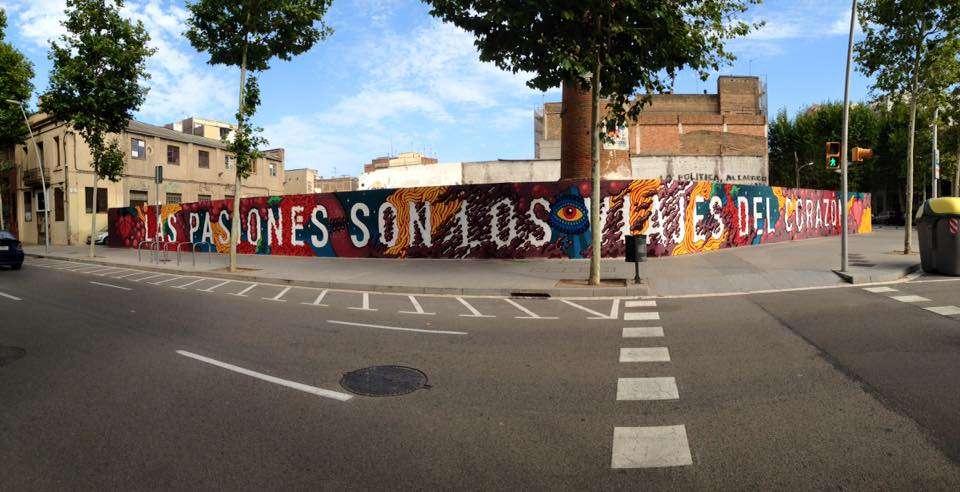 passion street art poblenou barcelona