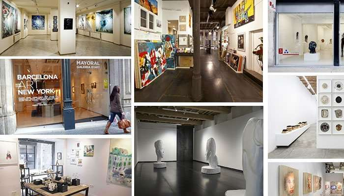 Top Art Galleries Barcelona
