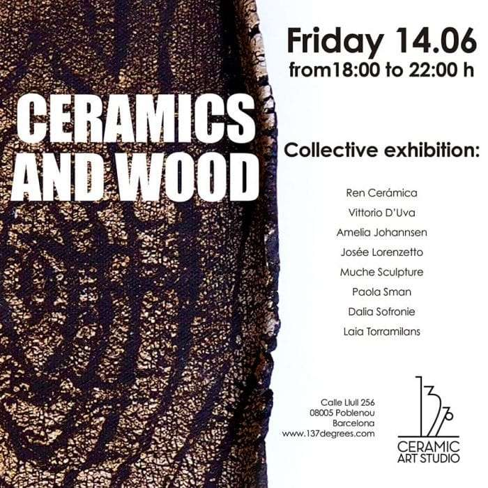 ceramics and wood