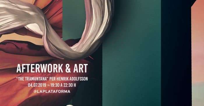 after work and art event barcelona