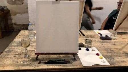 arte bar blank canvas
