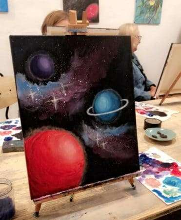 arte bar finished painting