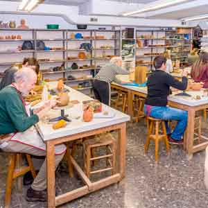 forma arts pottery in Barcelona