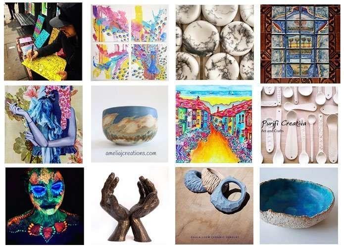 Barcelona artists on instagram