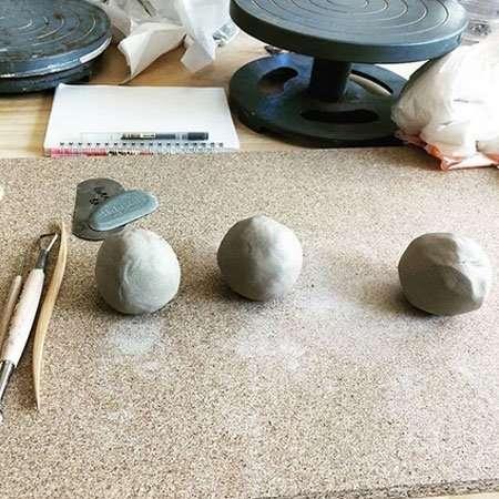 ceramics course classroom