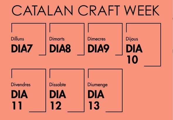 catalan craft week