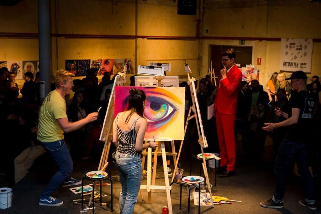 art battle barcelona