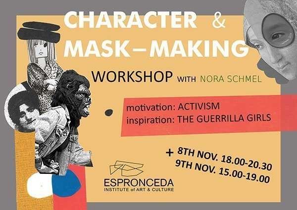 mask-making workshop
