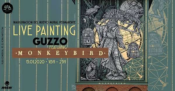 guzzo live painting