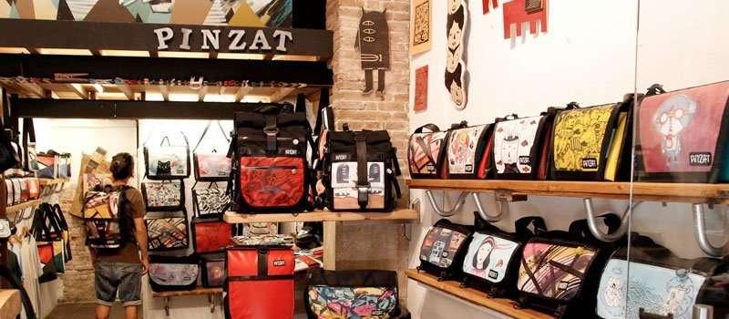 pinzat handmade bags in barcelona