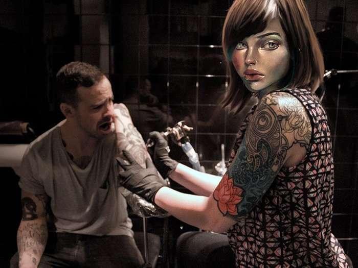 tattoo artist barcelona