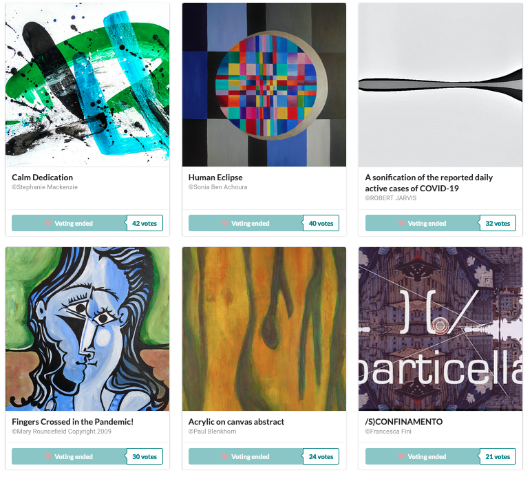 online art exhibition 2020