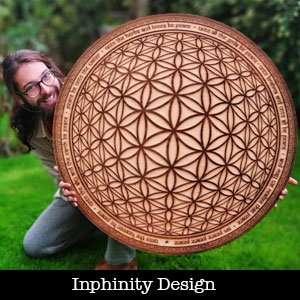 Inphinity Design Wood Art in Barcelona
