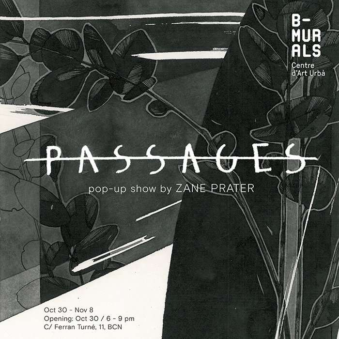 Passages Pop-up Show by Zane Prater