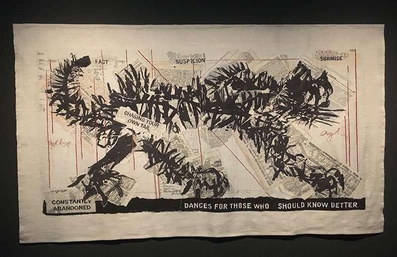William Kentridge tapestry