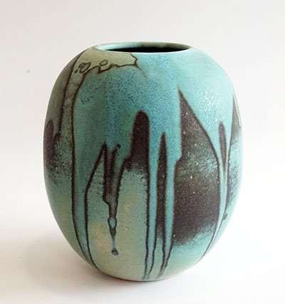 ceramic vase for sale by artist amelia johannsen