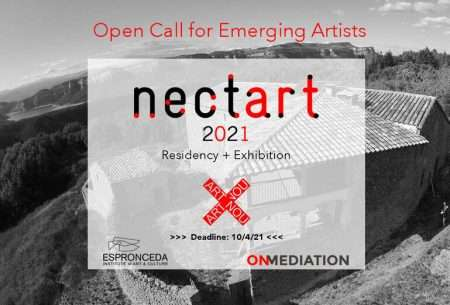 necart 2021 open call for emerging artists