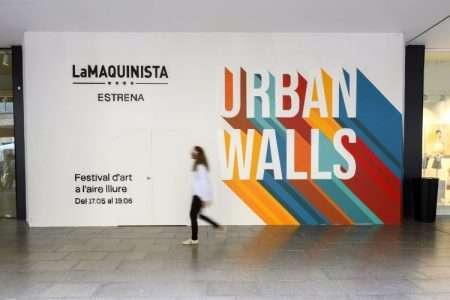urban walls at la maquinista barcelona