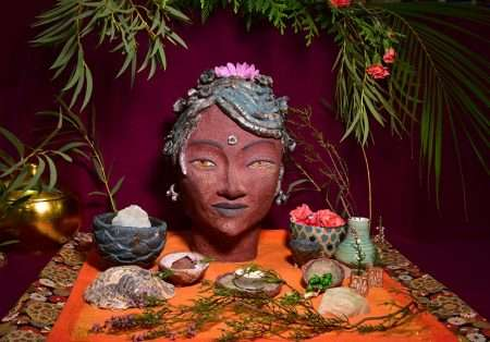 sacred objects with monica moreno art