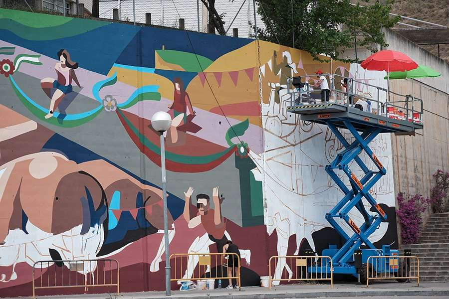 Muralism and Conservation in Trinidad Nova