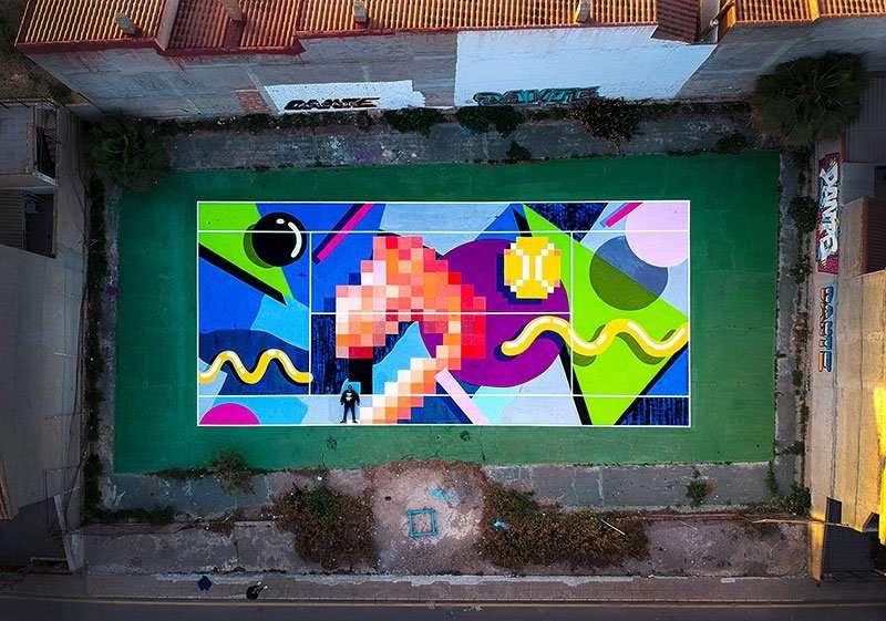 urban artist dante arcade