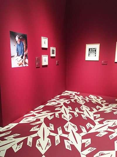 mc escher exhibition barcelona