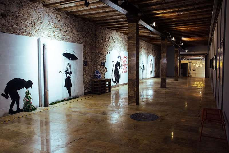 The World of Banksy, Barcelona